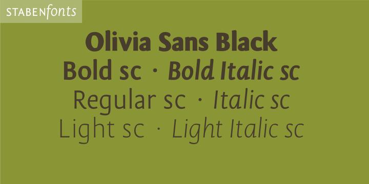 OliviaSans Sample 10