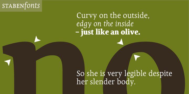 Olivia Serif 3