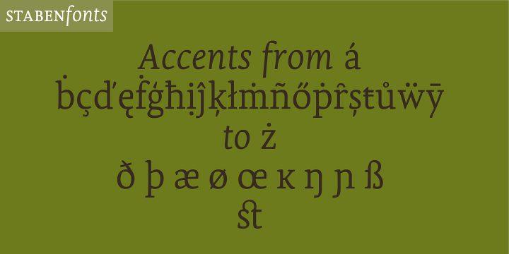 Olivia Serif 9
